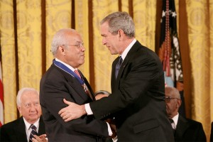 Norman C. Francis receives Medal of Freedom
