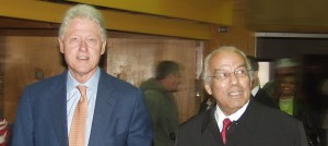 With Bill Clinton at Xavier