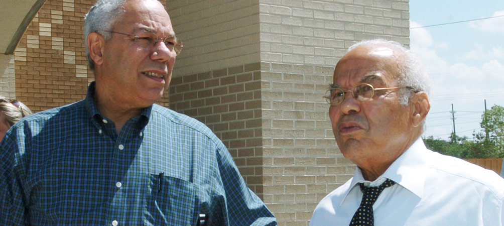 NCF With Colin Powell