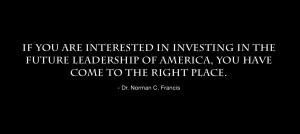 Norman C. Francis quotation
